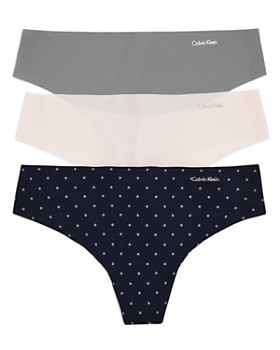 Calvin Klein - Invisibles Thongs, Set of 3