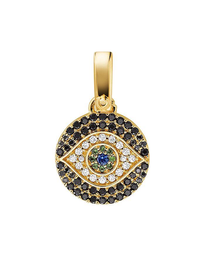Michael Kors - Custom Kors 14K Gold-Plated Sterling Silver Evil Eye Charm
