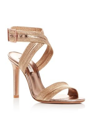 Casadei Women's Alma Leather High-Heel Sandals