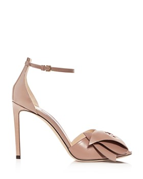 Jimmy Choo - Women's Karlotta 100 Leather High-Heel Sandals