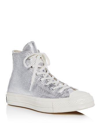 d11764cda0ac Converse Women s Chuck Taylor All Star 70 Metallic High Top Sneakers ...
