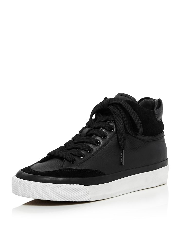 3d3781a34b7767 rag & bone Women's Army Leather & Suede High-Top Sneakers ...