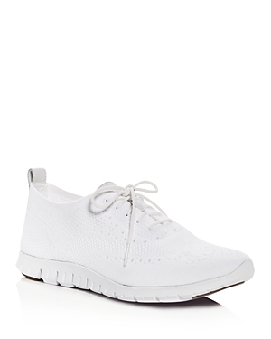 Cole Haan ZeroGrand Stitchlite Knit Lace Up Oxford Sneakers