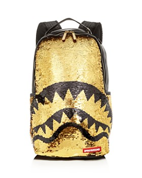 Sprayground Sequin Shark Mouth Backpack