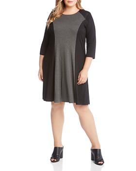 Karen Kane Plus - Color Block Dress