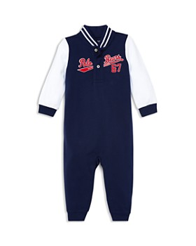 Ralph Lauren - Boys' Cotton Mesh Baseball Coverall - Baby