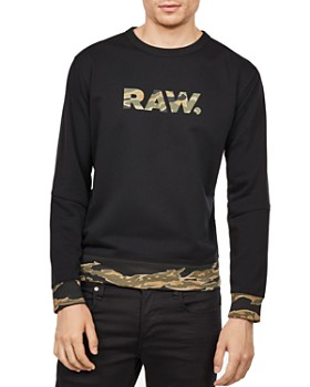 G-STAR RAW - Tahire Stalt DC Camouflauge-Trim Sweatshirt