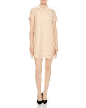 Sandro - Antilope Lace Mini Dress
