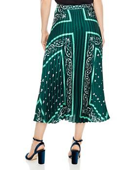 Sandro - Mercedes Bandana-Print Midi Skirt