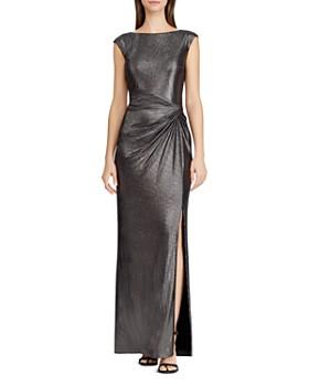 Ralph Lauren Metallic D Gown