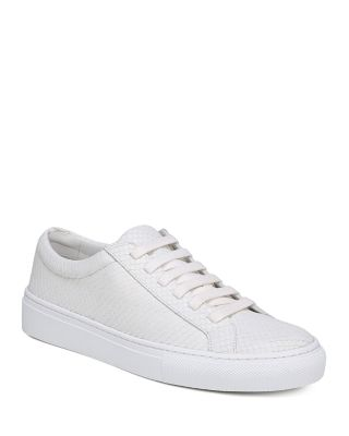 Women's Suvi 2 Snakeskin Embossed Leather Sneakers by Via Spiga