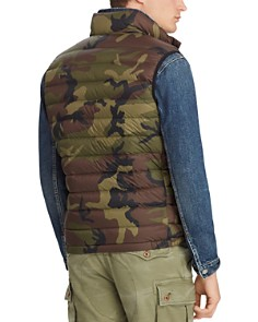 Polo Ralph Lauren - Camouflage-Print Packable Down Vest