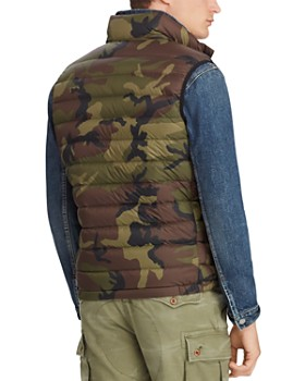 Polo Ralph Lauren - Camouflage-Print Packable Down Vest