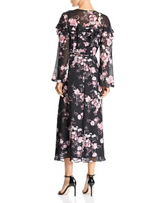 WAYF - Floral Wrap Dress - 100% Exclusive