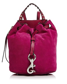 Rebecca Minkoff - Blythe Small Suede Backpack