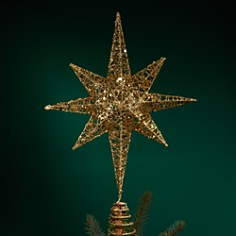 Bloomingdale's Glitter Star Tree Topper - 100% Exclusive _0