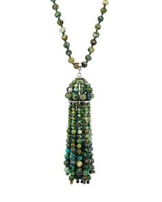 "Kendra Scott - Sylvia Stone Tassel Pendant Necklace, 32"""