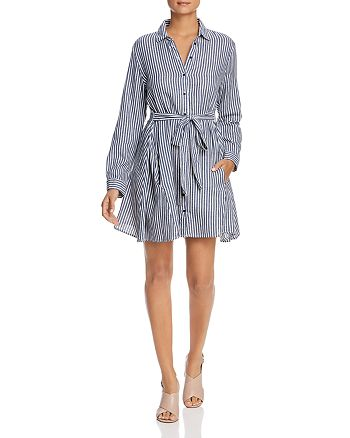 Velvet Heart - Harper Striped Shirt Dress