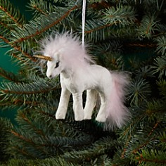 Bloomingdale's Fabric Unicorn Ornament - 100% Exclusive_0