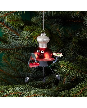 Bloomingdale's -  BBQ Chef Glass Ornament - 100% Exclusive