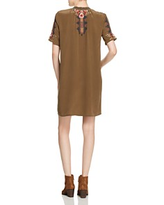 Johnny Was - Aaliah Embroidered Silk Dress