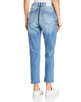 Pistola - Charlie Zip Straight-Leg Jeans in So Smooth