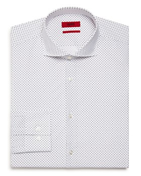 HUGO - Micro-Triangle Slim Fit Dress Shirt