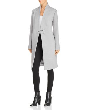 Seminar Coat, Grey Marle