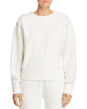 rag & bone/Jean Brushed Inside-Out Sweatshirt