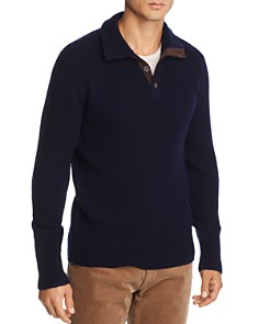 The Men's Store at Bloomingdale's - Mock Neck Cardigan - 100% Exclusive