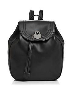 Longchamp - Cavalcade Small Leather Backpack