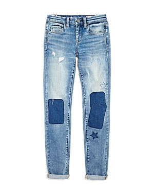 Blanknyc Girls' Patchwork Boyfriend Jeans - Big Kid