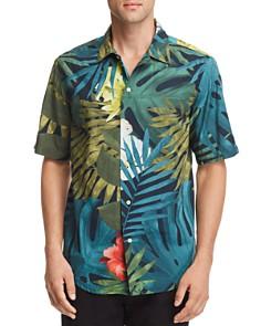 G-STAR RAW - Bristum Botanical-Print Regular Fit Utility Shirt