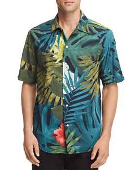 1a6d2b3f48fab G-STAR RAW - Bristum Botanical-Print Regular Fit Utility Shirt