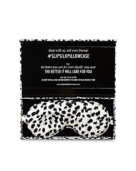 slip for beauty sleep - Limited Edition Leopard Silk Eye Mask