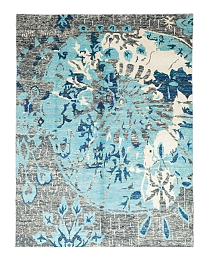 Solo Rugs Modern 25 Hand-Knotted Area Rug, 9' 1 x 11' 10