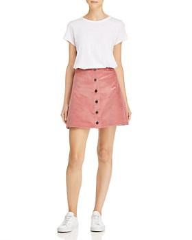 Elizabeth and James - Prewitt Corduroy Mini Skirt