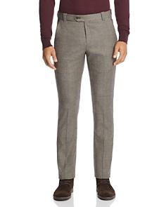The Men's Store at Bloomingdale's - Houndstooth Tailored Fit Dress Pants - 100% Exclusive