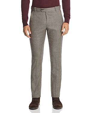 The Men's Store at Bloomingdale's Houndstooth Tailored Fit Dress Pants - 100% Exclusive