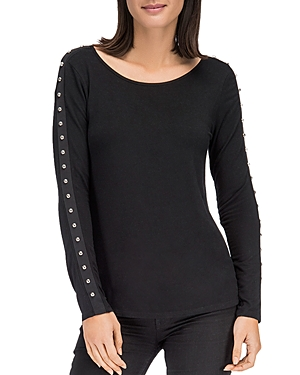 B Collection By Bobeau B COLLECTION BY BOBEAU AMBER STUD SLEEVE TOP