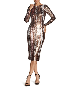 Dress The Population DRESS THE POPULATION EMERY SEQUINED DRESS