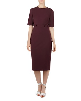 Ted Baker - Maggidd Pleated-Waist Dress