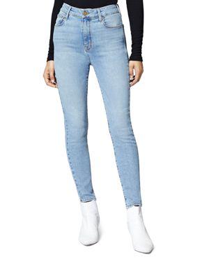 Social High-Rise Skinny Ankle Jeans In Light Blue