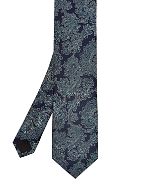 Ted Baker Fever Floral-Print Silk Skinny Tie