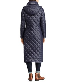 Ralph Lauren - Packable Diamond & Channel Quilted Down Coat