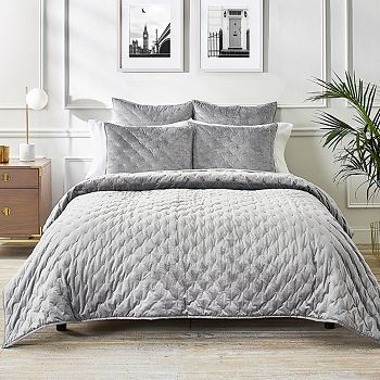 Ted Baker - Velvet Bow Coverlet, Full/Queen