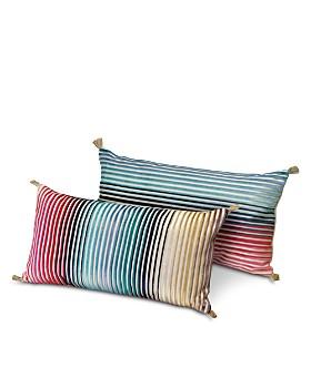 "Missoni - Jacaranda Decorative Pillow, 12"" x 24"""