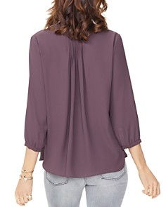 NYDJ - Pintuck-Back Blouse