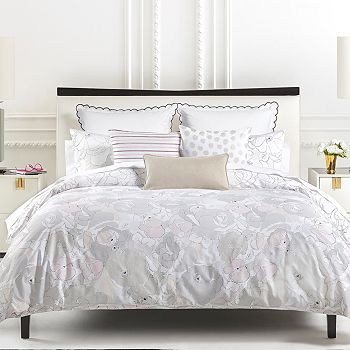 kate spade new york - Vintage Floral Duvet Cover Set, Twin