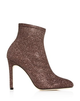 SJP by Sarah Jessica Parker - Women's Apthorp Glitter Pointed Toe High-Heel Booties